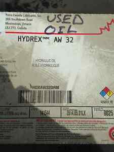 HYDRAULIC OIL AW32 HYDREX (VERY CLEAN USED OIL) BARRELLS London Ontario image 2
