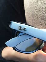 White Ray Ban sunglasses