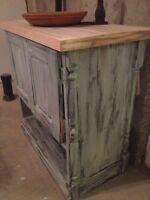 CLEARENCE On Sale NO TAX  Custom Antique Reclaimed Vanity