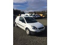 FORD FIESTA VAN 1,4 TDCI ## LOW MILES ## DIRECT FROM AMBULANCE SERVICE ##
