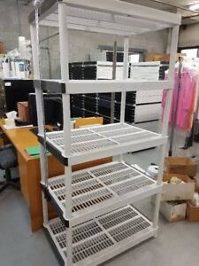 Shelving/storage stackable 5 tablets  72x36x24 (100 availble)