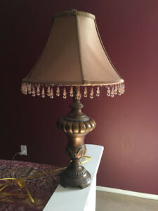 Two Side Table Lamps for any Bedroom or Table in the House