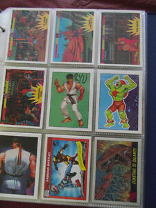 Lots of Collector Cards Marvel, Topps, Bay Watch, BatMan New Pks
