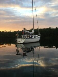 30' Grampian Sailboat with Trailer