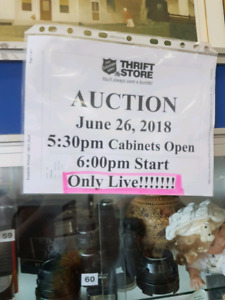Auction June 26, 2018