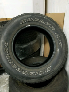 "4 WINTER TIRES ( 255 / 70 /  18"" )  GOOD CONDITION $400"