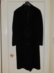Over Coat Cashmere 44L 46L Andrew Fezza Mint Condition