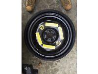 Spare wheel Space Master Vredestein Audi Q