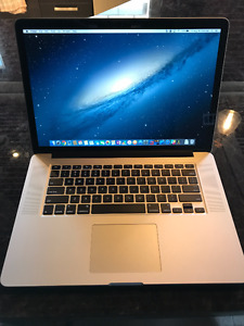 "Macbook Pro Retina 15"" - Mid 2014"
