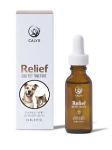 Organic CBD Oil for Pets - RELIEF Pet Tincture 250mg