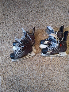 Bauer Junior Skates.