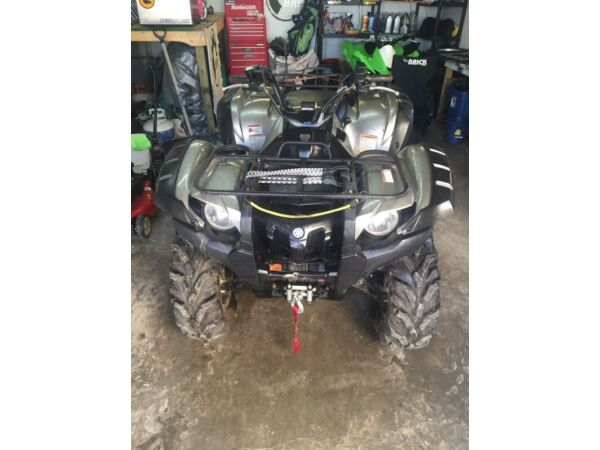 Used 2007 Yamaha grizzly 700