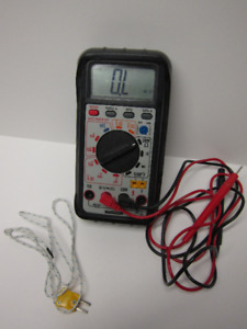 Pro Multimeter with Temperature tester