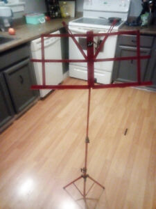 Red Profile Music Stand. Only asking $10
