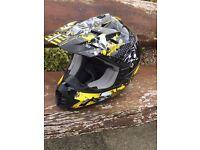 THH Kids Motocross Helmet Size XS