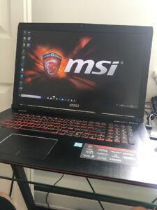 MSI GE72 6QF APACHE Pro Gaming Laptop