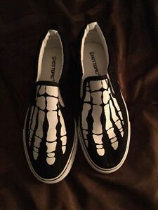 Brand new skeleton Halloween shoes