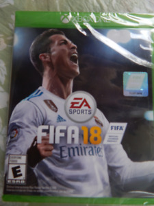 Brand New Never Opened Fifa 2018 World Cup Soccer for XBoxONE