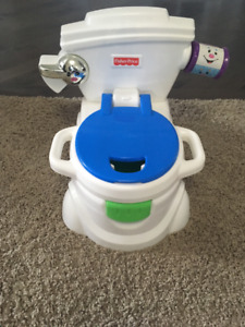 FISHER PRICE CHEER FOR ME POTTY