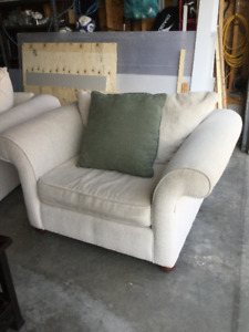 Comfy Chair& matching Loveseat