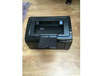 HP LaserJet P1102w/2 toner cartridges