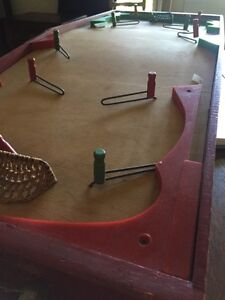 Antique Table Hockey Game