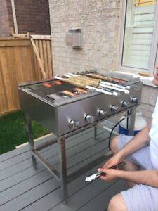 Professional Kabob Grill 36 by 24 inch wide