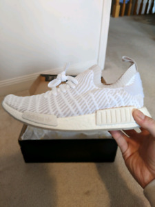 ADIDAS NMD WHITE SIZE 9 - NEW