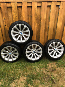 Used BMW Rims with tires for sale