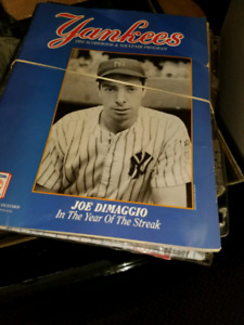 Huge selection of rare New York Yankees programs, Mags, Items