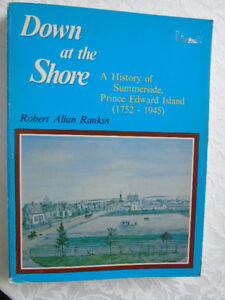 DOWN at the SHORE HISTORY OF SUMMERSIDE P.E.{1752-1945}