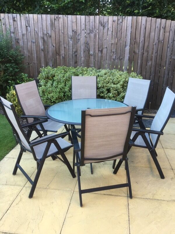 garden table and chairs for sale in leeds. garden table and 6 chairs for sale in leeds gumtree