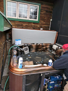 Trust ONLY Pro's when servicing your hot tub !