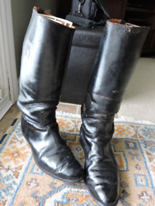 post ww2 military ridding boots
