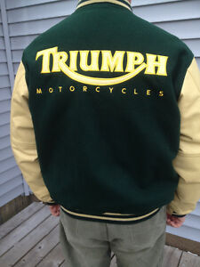 Triumph Swag - Wool and Leather Jacket - Belt Bonus!