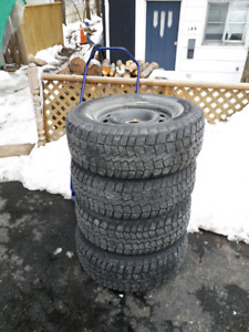 4 265 70 17  tires and rims