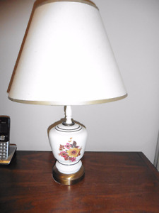 two small matching lamps