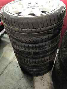 255/45R18 Pirelli SottoZero Winter 240 + Mags Mercedes S430 West Island Greater Montréal image 2