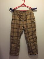 Mens Empyre 10 000mm Size Large Snowboard Pants.