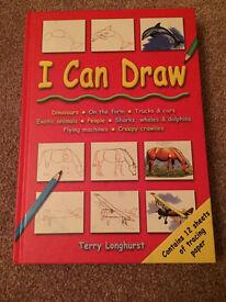 I Can Draw hardback book