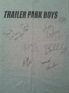 Trailer Park Boys Signed Shirt