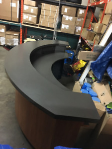 Great Condition Sales Kiosk/Cash & Back Counter