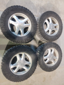 GMC ENVOY RIMS AND TIRES