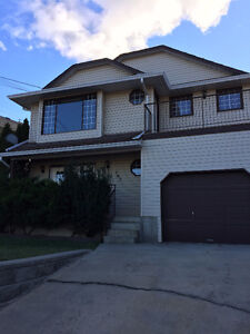Top level of view home w/ private backyard - lower Sahali