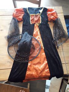 Costume de sorcière pour enfant taille medium