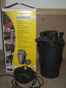 Laguna ClearFlo 1400 kit: Complete Pump, UV, and Filter kit