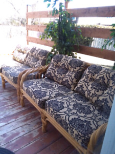 Meuble de jardin patio sofa set