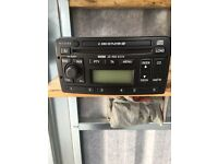 Ford Focus 6 disc CD player (escort transit fiesta Mondeo)