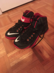 Lebron James nike zoom soldier 8 size:11