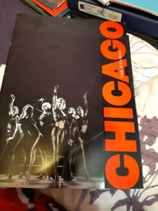 Chicago the musical broadway souvenir brochure nyc